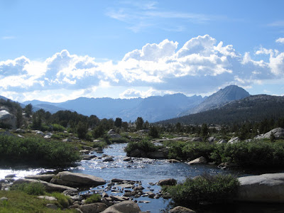 Looking West, downstream  ©http://backpackthesierra.com