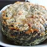 Creamy Spinach Parmesan Puff
