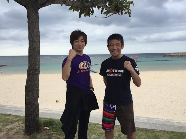 セミナーの前にビーチでBBQスタミナチャージしました!