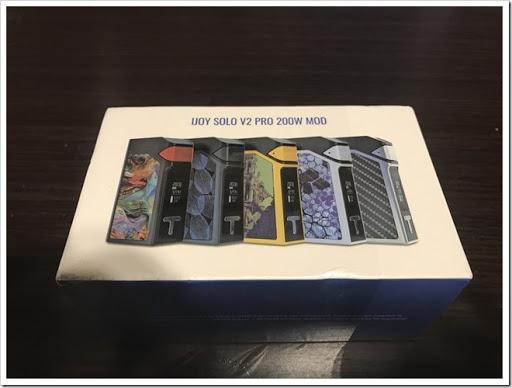 IMG 2863 thumb - 【芸術】IJOY SOLO V2 pro 200Wゲット!HARDモードはさすがです。立ち上がり爆速のクラウドチェイサー御用達ブランドIJOYの新作MOD!【ファッションMOD?】