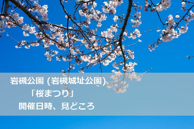 岩槻城址公園 (岩槻公園) 桜まつり