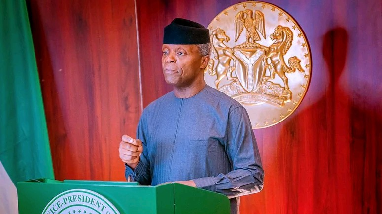 Osinbajo: FG Supporting Private Developers To Provide Electricity