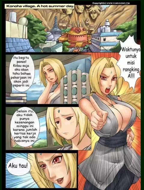 Komik Hentai Naruto Dildo Cakra Dan Tentakel Tsunade VS Para Ninja Wanita Konoha Part 1