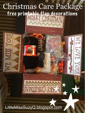 christmas care package - Christmas Care Package Ideas