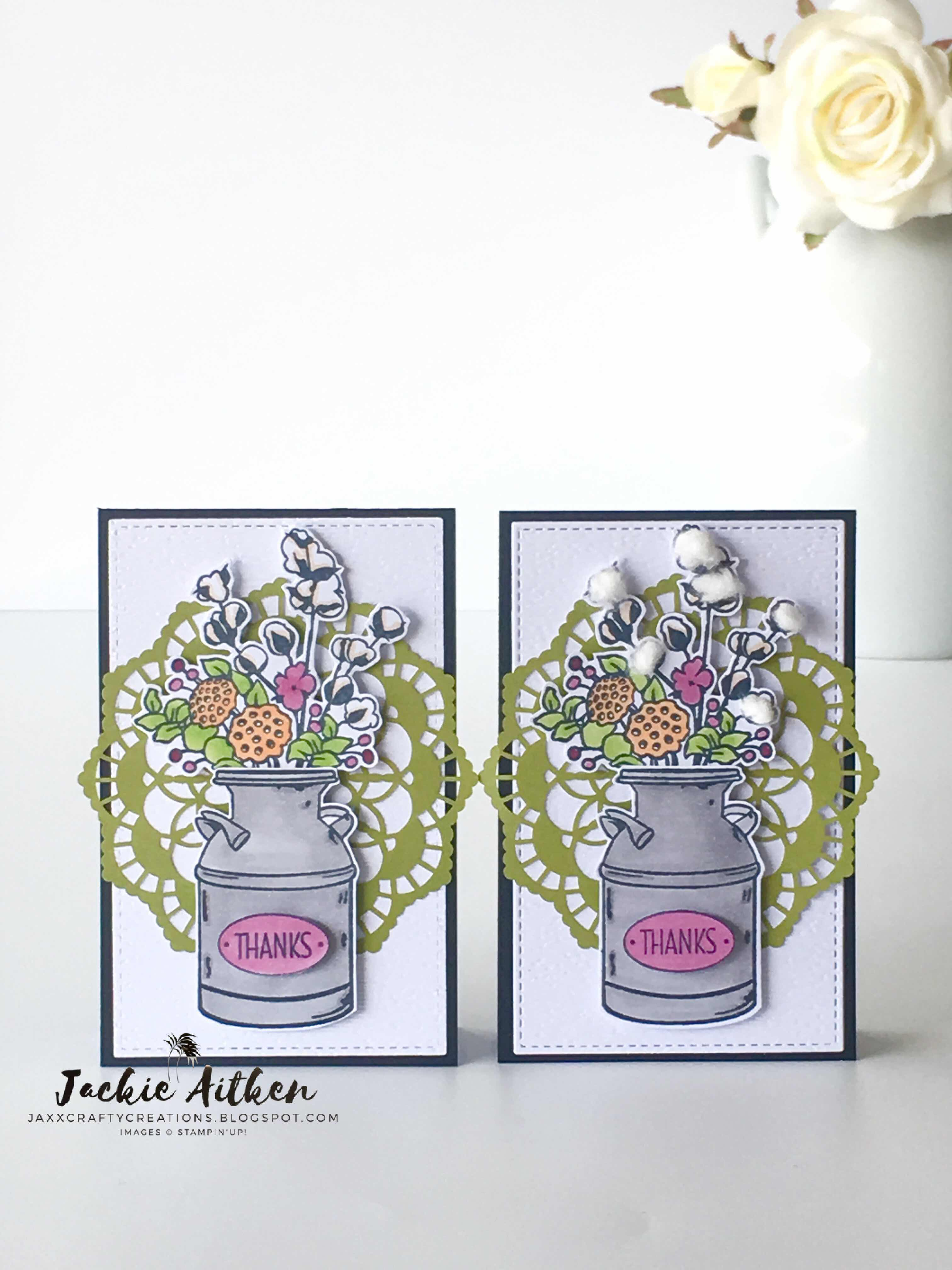 Country Home Stamp Set, Stampin Up, Stampin' Blends,