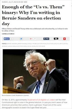20160717_1030 Enough of the Us vs. Them binary Why I'm writing in Bernie Sanders.jpg