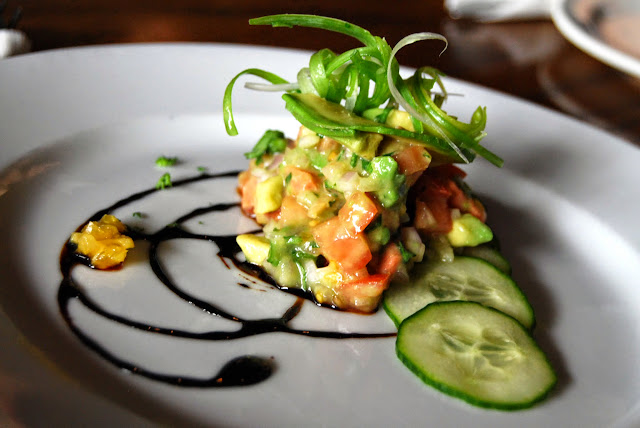 Salmon ceviche served at Bayou on Bay / Credit: Bellingham Whatcom County Tourism