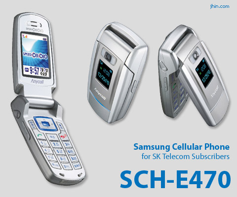 Samsung Cell Phone SCH-E470