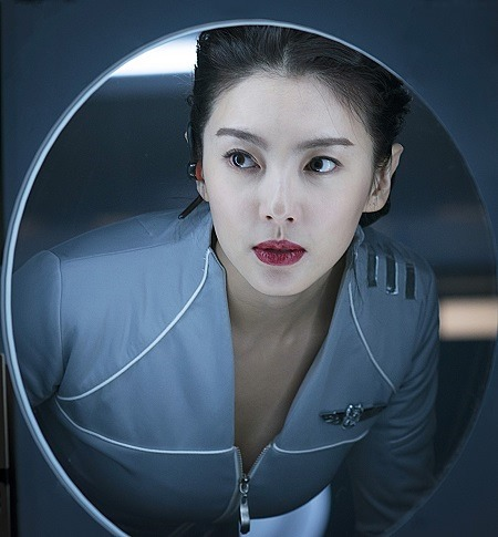 Yuqui Zahng in LOST IN THE PACIFIC
