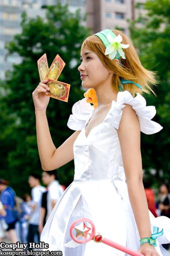 card captor sakura cosplay - kinomoto sakura