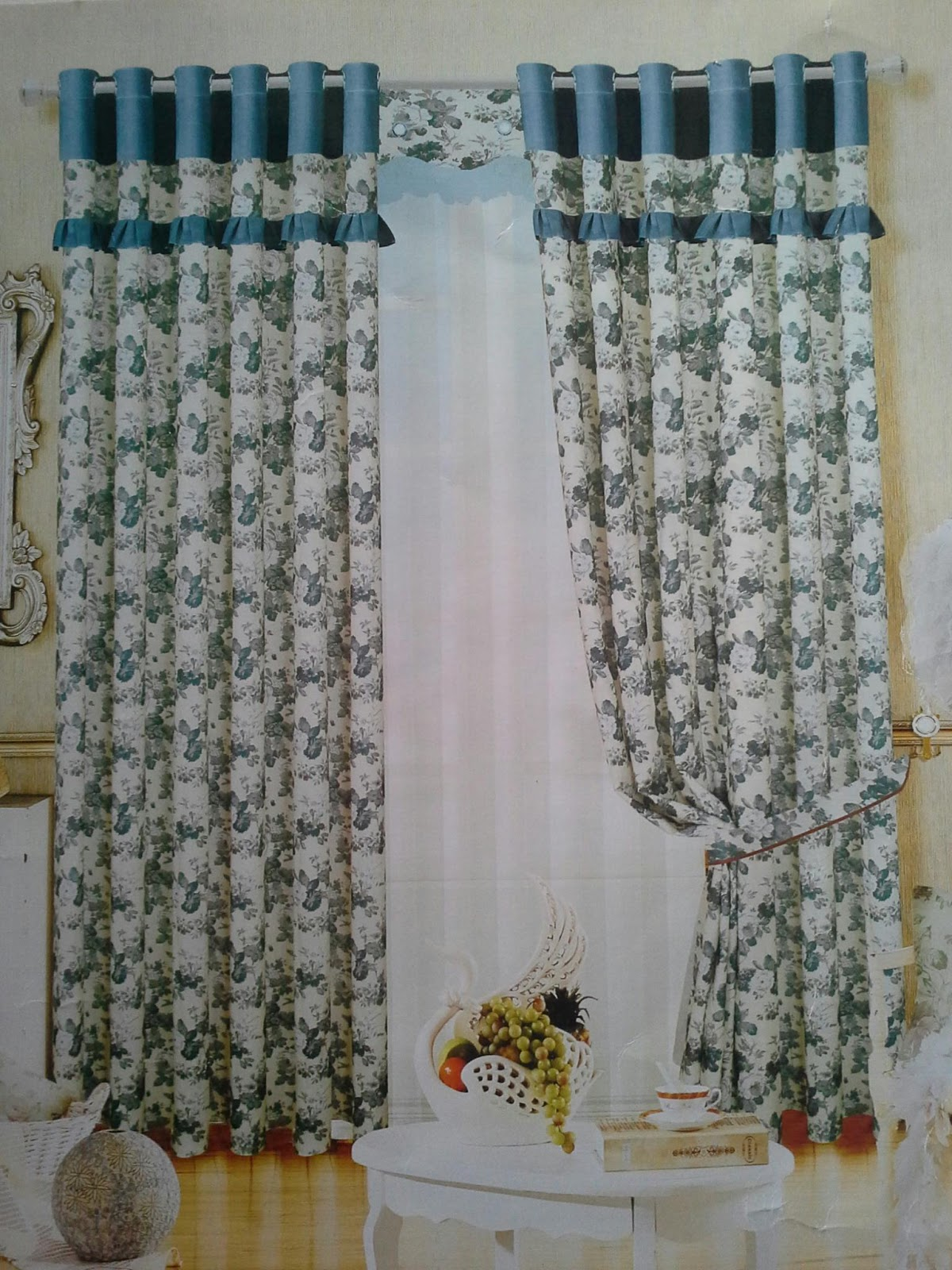 Batik Sae Shabby Chic Bunga Mulai 220rb M Gorden Bahan Kain