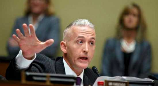 Rep. Trey Gowdy rips into FBI Director Comey