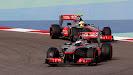Jenson Button VS Sergio Perez, McLaren MP4-28