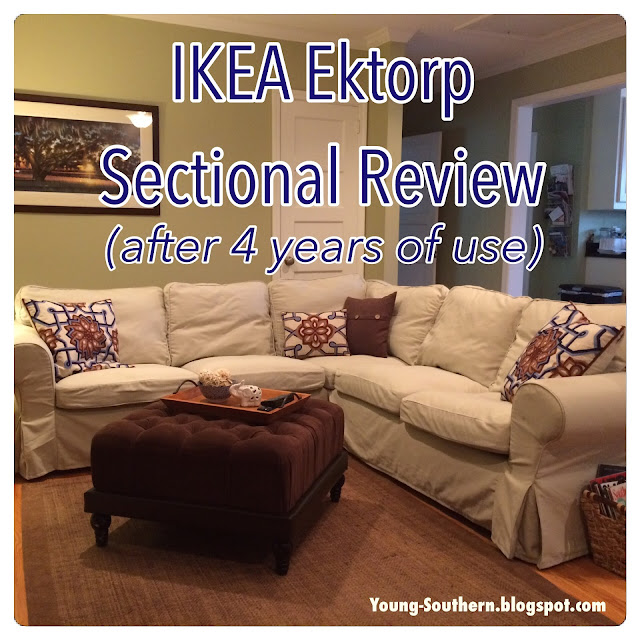 Young Amp Southern Review Ikea Ektorp Sectional After 4