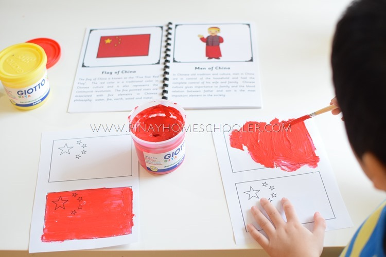 Coloring the Flag of China
