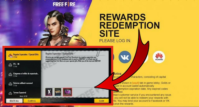Free Fire Redeem Code Today 17 May 2021 Redeem Code For Characters Skins Etc
