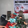 Aksi Donor Darah Memperingati HUT Palang Merah Indonesia (PMI)