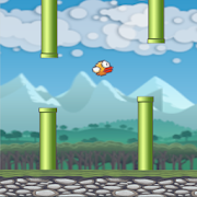 Flying Bird - Flapper Birdie Game