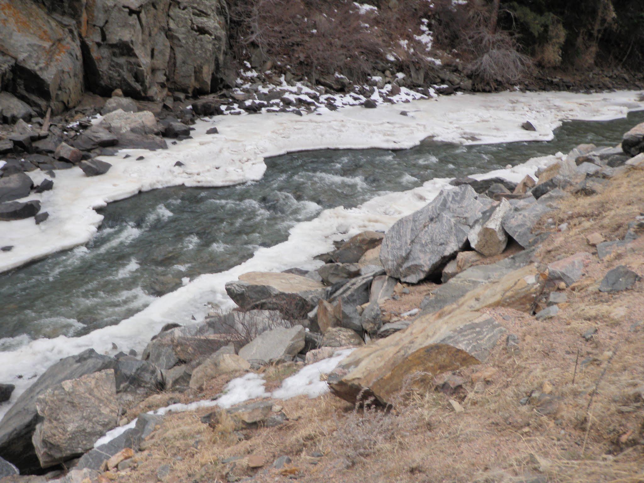 South boulder creek 12 08 2015 dave weller 39 s fly for Boulder creek fishing