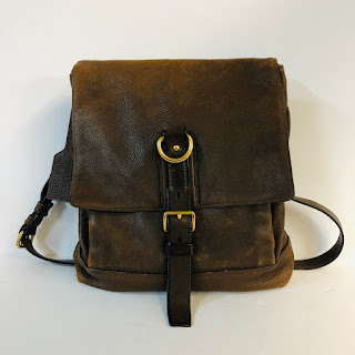 Prada Distressed Leather Satchel