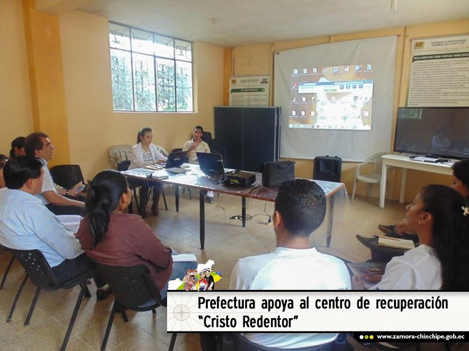 """GOBIERNO PROVINCIAL APOYANDO AL CENTRO DE RECUPERACIÓN PARA ALCOHÓLICOS Y DROGADICTOS """"CRISTO REDENTOR"""""""