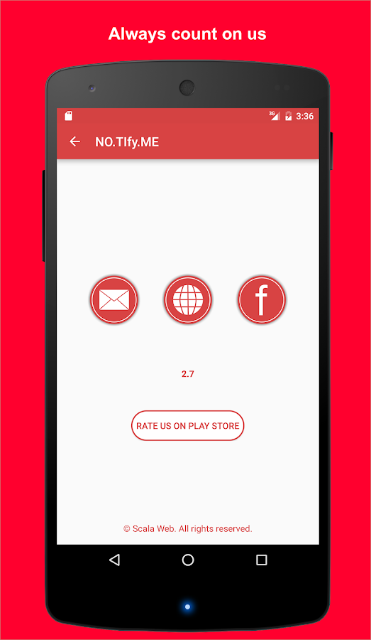 NO.TIfyME Student Task Manager- screenshot