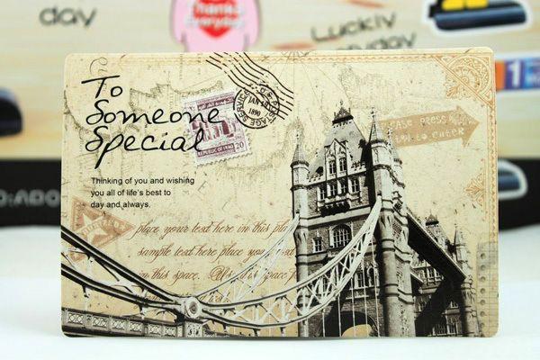 Английские открытки из путешествий