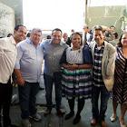 Prefeito Carlin Moura foi no Arraiá do Pedro Alcântara Jr.