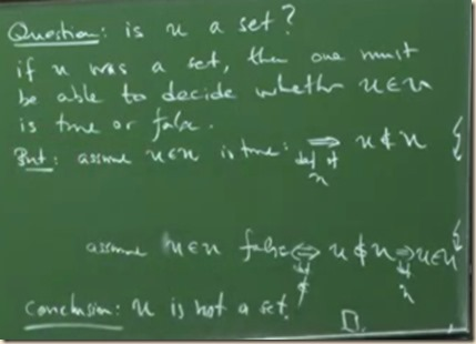 physics set theory axioms FZ 5