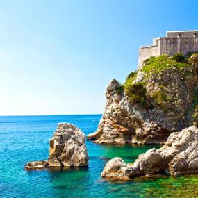 Dubrovnik by Emanuel Torre - Landscapes Waterscapes ( water, europe, dubrovnik, croatia, rock )
