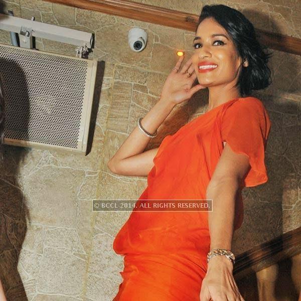 Krishna Somani at Honey Katiyal's 36th birthday party held in Delhi.
