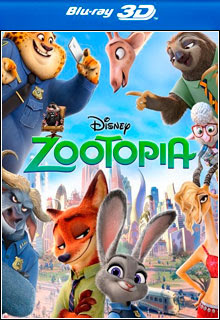 Zootopia (2016) Torrent BRRip Blu-Ray 3D HSBS 1080p 5.1 CH Dual Áudio