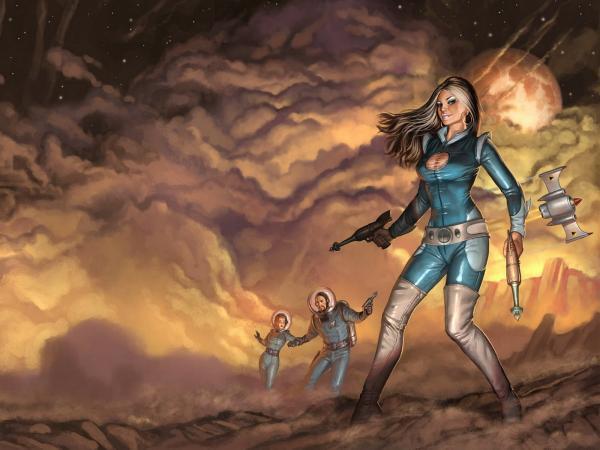War Of Space Warriors, Battle