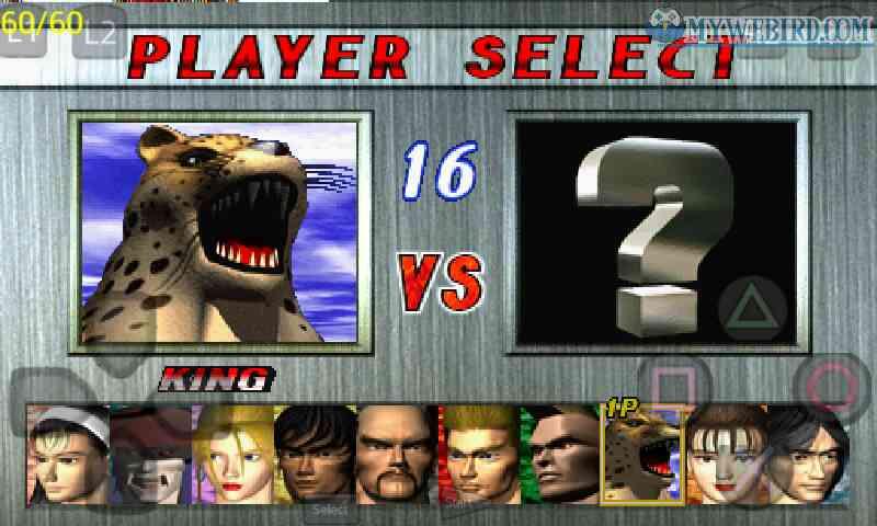 Tekken 2 Playstation 1 Characters