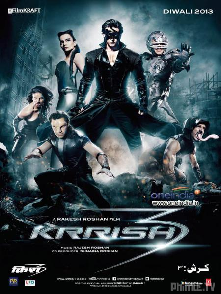 Phim Siêu Nhân Ấn Độ 3 - Krrish 3 - VietSub