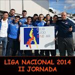 LIGA NACIONAL 2014 - II JORNADA