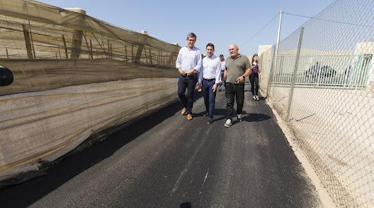 Más de 60.000 euros para mejorar tres caminos en Carboneras