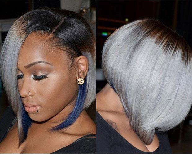 Short Hair Styles For Black Women On 2015