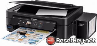 Reset Epson L486 ink pads are at the end of their service life