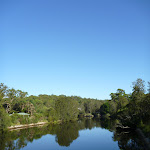 The Lane Cove River from Fullers Bridge (383411)