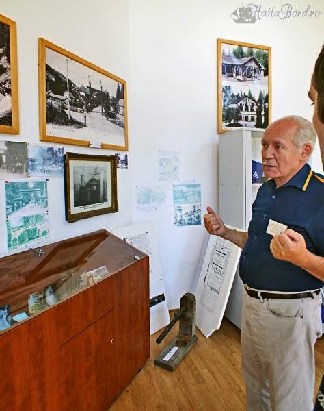 ghid muzeul apelor minerale borsec
