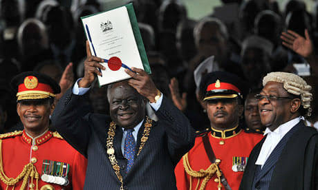 Promulgation of the Kenyan Constitution 2010. PHOTO | NMG