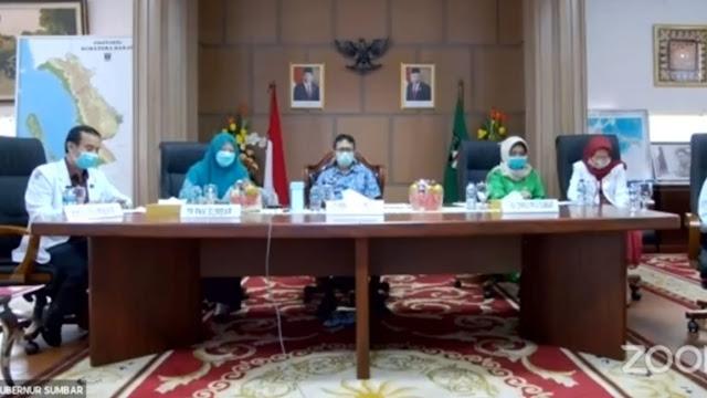 Gubernur Launching Penempatan Dokter Keluarga di 9 Kabupaten/ Kota se-Sumbar.