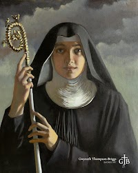 New Painted Works of St. Scholastica and St. Benedict