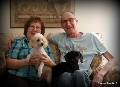 """Roger & Joyce with """"the kids"""""""