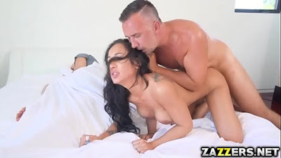 Amia Mileys pussy stretched by Mick Blue