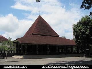 Ganjuran, Gereja Unik Dengan Desain Arsitektur Jawa