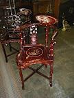 Unique & Ornate Corner chairs