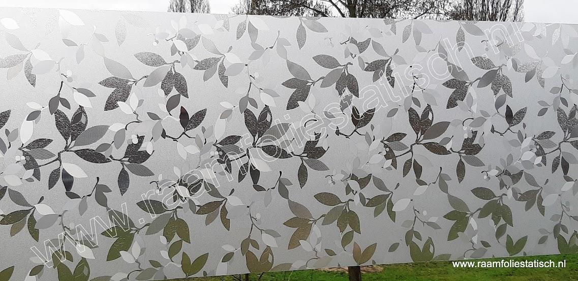Raamfolie statisch lente bladeren 67,5cm x 1,5m