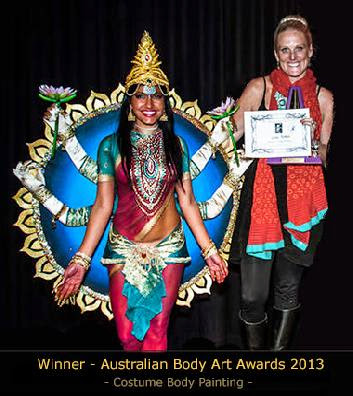 Our Awards  Skincognito Body Painting